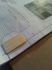 I was glad I used a ruler and not their guide, because their guide was SO WRONG.
