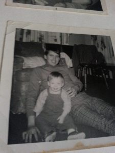 My and my daddy. I was less than a year old.